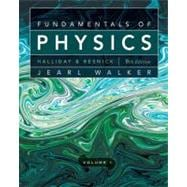 Fundamentals of Physics, 9th Edition, Volume 1, Chapters 1-20, 9th Edition - David Halliday (Univ. of Pittsburgh); Robert Resnick (Rensselaer Polytechnic Institute); Jearl Walke