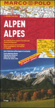Alpi 1:800.000. Ediz. multilingue