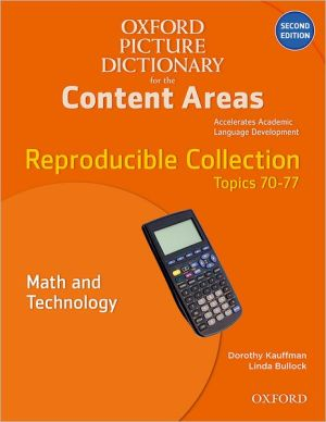Oxford Picture Dictionary for the Content Areas Reproducible: Math and Technology