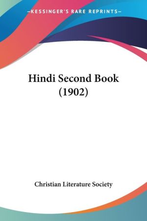 Hindi Second Book (1902) - Christian Literature Society