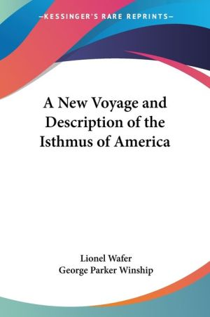 New Voyage and Description of the Isthmus of America