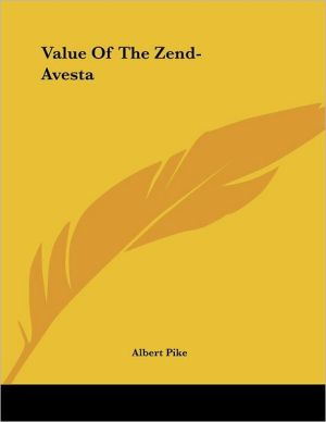 Value of the Zend-Avesta