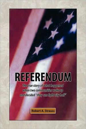 Referendum - Robert A. Strauss