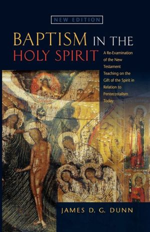 Baptism In The Holy Spirit - James D.G. Dunn, James D.G. Dunn