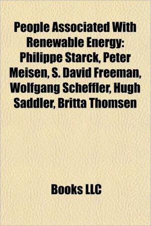 People associated with renewable energy: Barack Obama, Bobby Jindal, Michael Grimm, Tom Cotter, Hermann Scheer, Peter Meisen, Joe Doucet