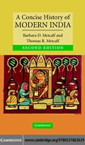 A Concise History of Modern India - Metcalf, Barbara D.