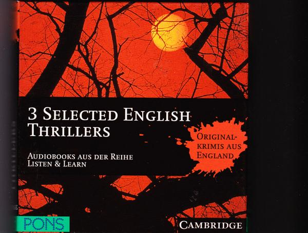 3 Selected English Thrillers. Audiobooks aus der Reihe Listen & Learn by Cambridge University Press. - Cambridge University Press