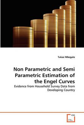 Non Parametric and Semi Parametric Estimation of the Engel Curves - Mbegalo, Tukae