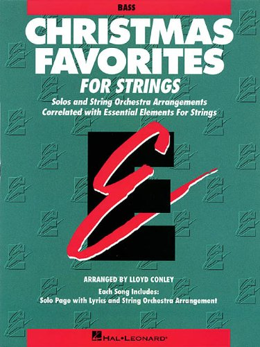 Christmas Favorites - String Bass Essential Elements for Strings - Various