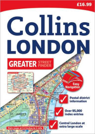 Greater London Street Atlas: 20th Edition - Collins UK
