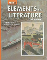 Elements of Literature: Student Ediiton Fifth Course 2005 - Houghton Mifflin Harcourt
