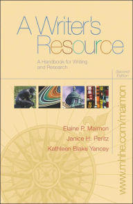 A Writer's Resource with Student Access to Catalyst 2.0 - Janice Peritz