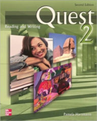 Quest Level 2 Reading and Writing Student Book 2nd Edition - Pamela Hartmann