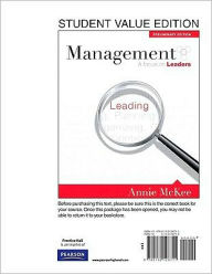 Management: A Focus on Leaders, Preliminary Edition, Student Value Edition - Annie McKee
