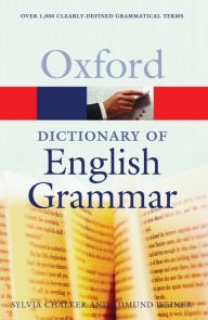 The Oxford Dictionary of English Grammar - Sylvia Chalker