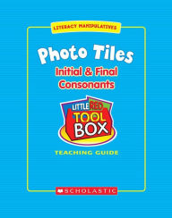 Little Red Tool Box: Photo Tiles: Initial & Final Consonants - Valerie Stofac