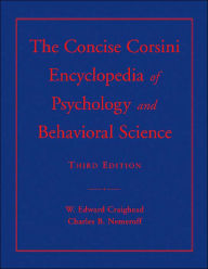 The Concise Corsini Encyclopedia of Psychology and Behavioral Science - W. Edward Craighead