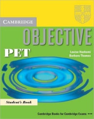 Objective PET Student's Book - Louise Hashemi