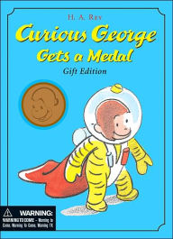 Curious George Gets a Medal: Gift Edition - H. A. Rey
