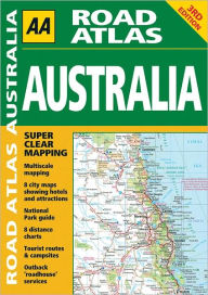 AA Road Atlas Australia - AA Publishing