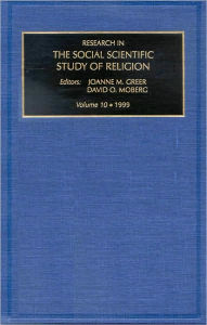 Research in the Social Scientific Study of Religion - David O. Moberg