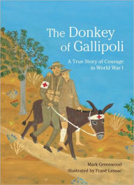 The Donkey of Gallipoli: A True Story of Courage in World War I - Mark Greenwood