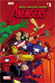 Marvel Universe Avengers Earth's Mightiest Heroes - Comic Reader 1 - Christopher Yost