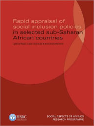 Rapid Appraisal of Social Inclusion Policies in Selected Sub-Saharan African Countries - Laetitia Rispel
