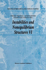 Instabilities and Nonequilibrium Structures VI - E. Tirapegui