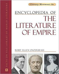Encyclopedia of the Literature of Empire - Mary Ellen Snodgrass