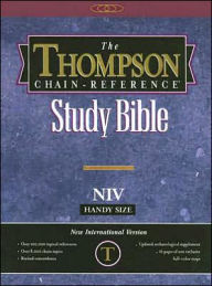 Thompson Chain-Reference Study Bible-NIV-Handy Size - Frank Charles Charles Thompson