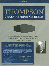 Thompson Chain Reference Bible-NIV - Frank Charles Thompson