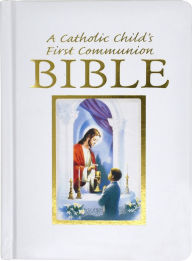 Catholic Child's Traditions First Communion Gift Bible-Nab-Boy - Victor Fr Hoagland