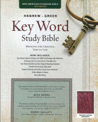 Key Word Study Bible NASB: Genuine Burgundy - Spiros Zodhiates