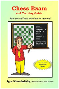 Chess Exam and Training Guide: Rate yourself and learn how to Improve - Igor Khmelnitsky