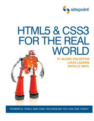 HTML5 & CSS3 in The Real World - Estelle Weyl