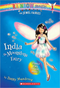India the Moonstone Fairy (Turtleback School & Library Binding Edition) - Daisy Meadows