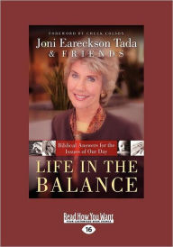 Life In The Balance - Joni Eareckson Tada