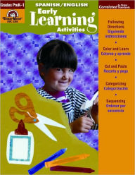 Early Learning Activities, English/Spanish - Evan-Moor Educational Publishers