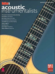 Guitar One Presents Acoustic Instrumentalists - Hal Leonard Corp.