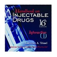 Handbook on Injectable Drugs Single User CD-ROM - Lawrence A. Trissel
