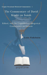 The Commentary Of David Kimhi On Isaiah - Louis Finkelstein