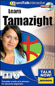 Talk Now! Learn Tamazight (Berber): Essential Words and Phrases for Absolute Beginners - Topics Entertainment
