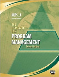 The Standard for Program Management - Project Management Institute