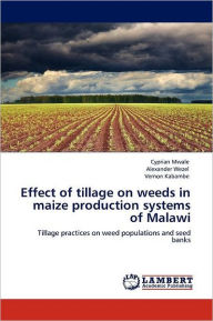Effect Of Tillage On Weeds In Maize Production Systems Of Malawi - Cyprian Mwale