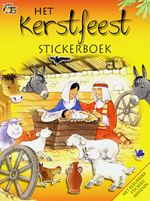 Het Kerstfeest - stickerboek - Su Box e.a.