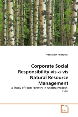 Corporate Social Responsibility vis-a-vis Natural Resource Management - Roddawar, Venkatesh