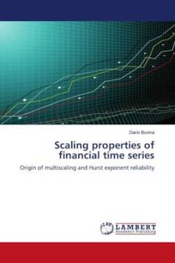 Scaling properties of financial time series - Bovina, Dario