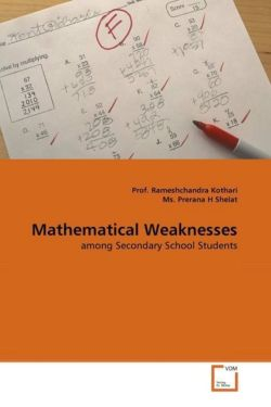 Mathematical Weaknesses - Kothari, Prof. Rameshchandra / Prerana H Shelat, Ms.