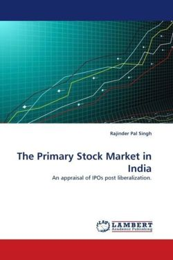 The Primary Stock Market in India - Singh, Rajinder Pal